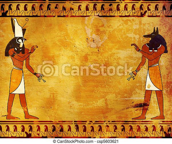 anubis, horus - csp5603621