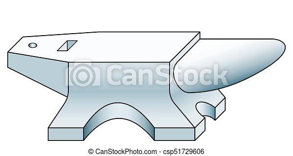 Anvil tool icon - csp51729606