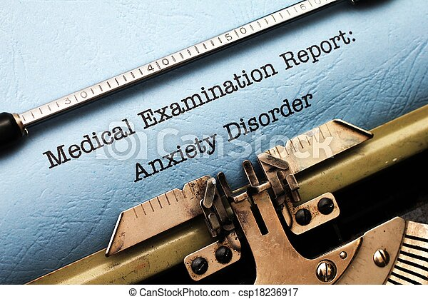 Anxiety disorder - csp18236917