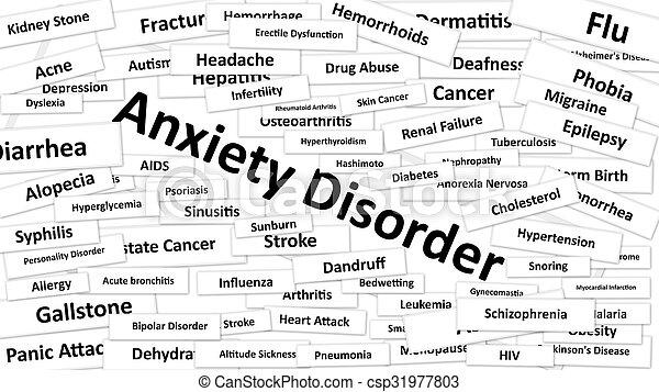 Anxiety Disorder - csp31977803