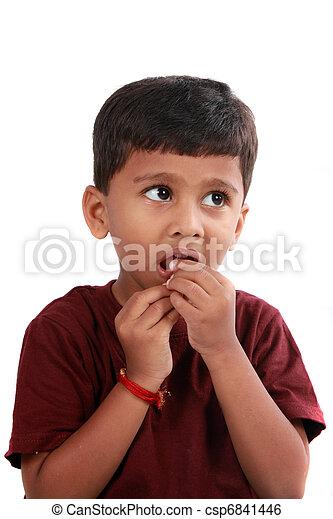 Anxious Boy - csp6841446