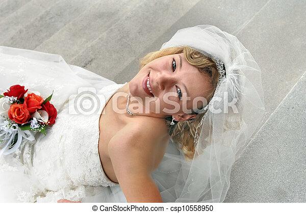 Anxiously awaiting Ceremony - csp10558950