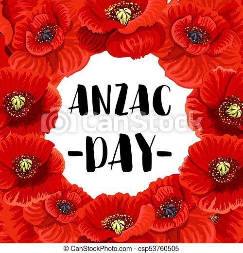 Anzac day war memorial day red poppy vector poster anzac day anzac day war memorial day red poppy vector poster mightylinksfo