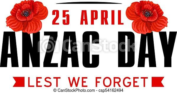 Anzac poppy flower icon for world war memorial day anzac or anzac poppy flower icon for world war memorial day csp54162494 mightylinksfo