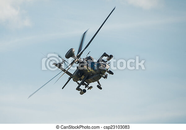 Apache helicopter - csp23103083