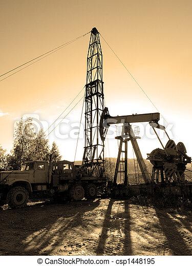Plataforma petrolera - csp1448195
