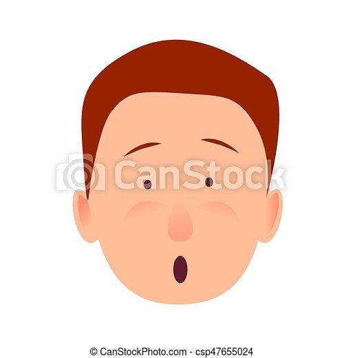 apartamento bug de olhos desenho man child boca aberta bug de