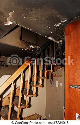 Apartamento quemado - csp17234016