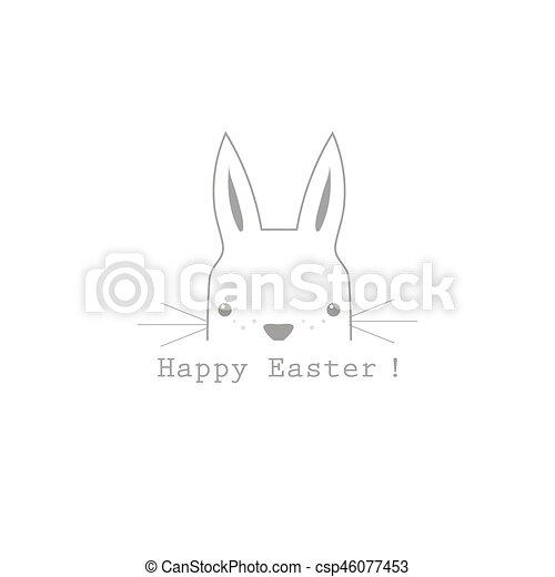 apartamento simples texto modernos desenho coelho páscoa