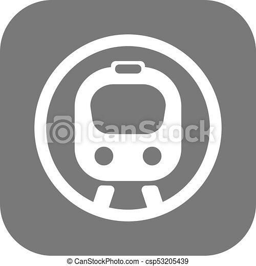apartamento, trem, velocidade - csp53205439