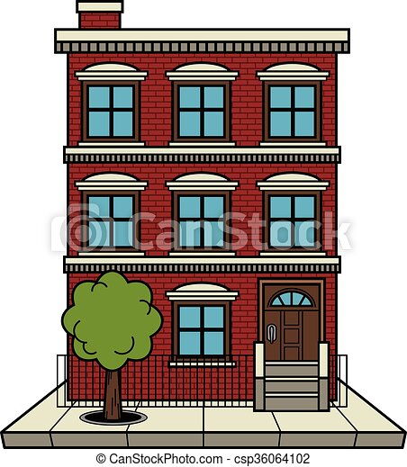 Apartment Building Illustrations And Clipart 72652 Royalty Free Drawings Graphics Available To Search From Thousands