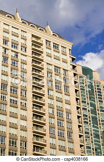 apartment buildings in chicago il stock image search photos and
