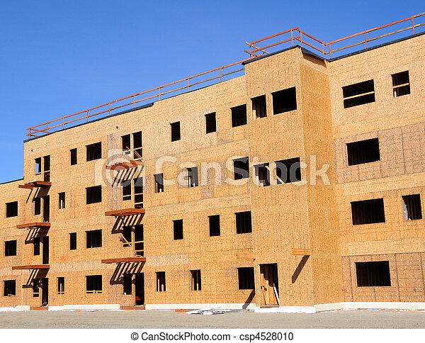 Apartment Complex Construction - csp4528010