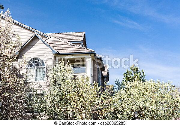 Apartment complex - csp26865285