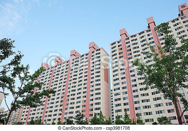 apartment complex - csp3981708