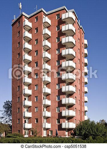 Apartment complex - csp5051538