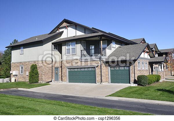 Apartment Complex - csp1296356
