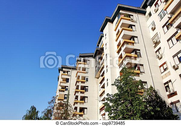 apartment complex - csp9739485