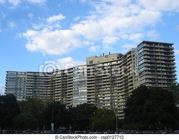 Apartment Complex - csp0127712