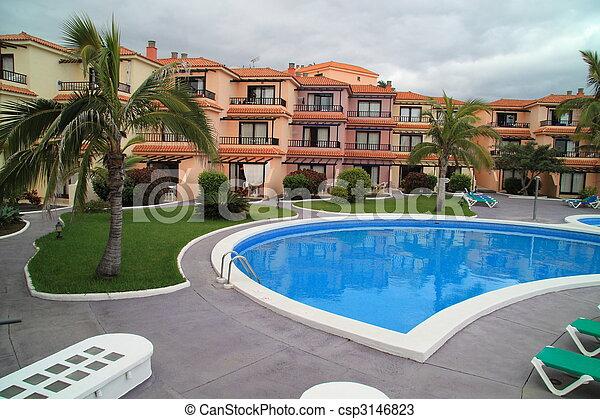 Apartment complex - csp3146823