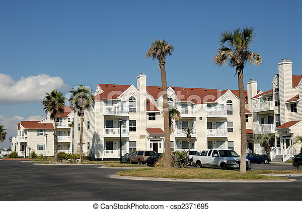 Apartment house in the southern United States - csp2371695