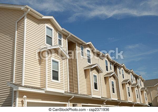 Apartment house - csp2371936