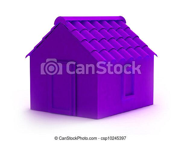Apartment house - csp10245397