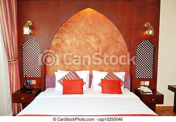 Apartment in the luxury hotel, Dubai, UAE - csp10250046