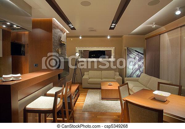 Apartment Interior - csp5349268