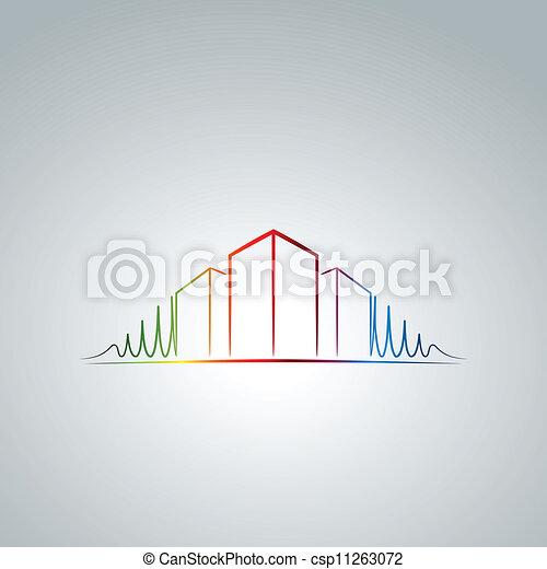 Apartment logo - csp11263072