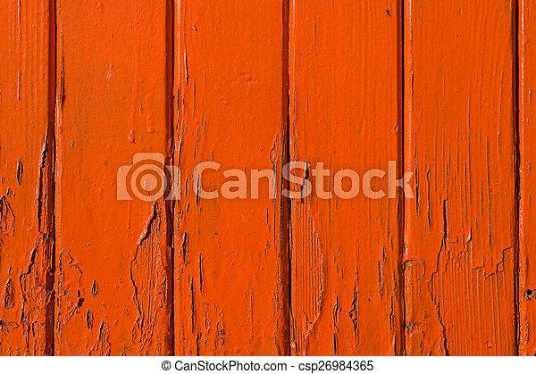 apelsin, trä, bakgrund, struktur - csp26984365
