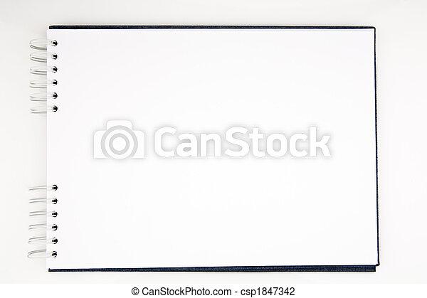 aperto, blocco note - csp1847342