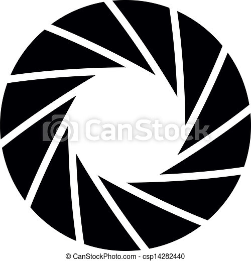 vector illustration of aperture background rh canstockphoto com aperture vector image aperture vector ai