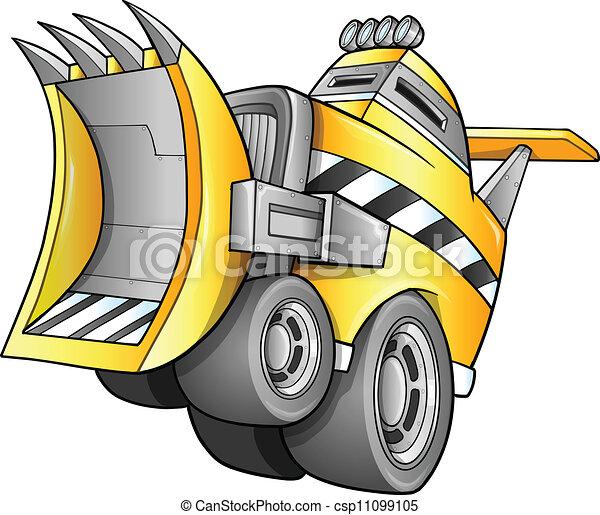Apocalyptic Vehicle Vector - csp11099105
