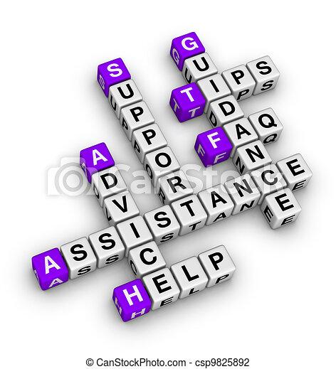 apoio, ajuda - csp9825892