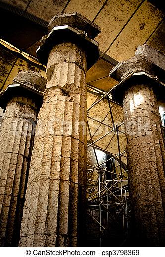 Apollo Temple of Epicurius - csp3798369