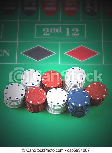 Chips de juego - csp5931087