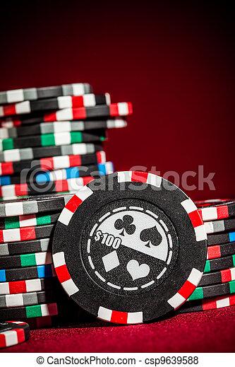 Chips de juego - csp9639588