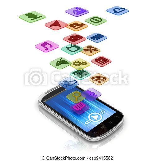 app, begrepp, 3 - csp9415582