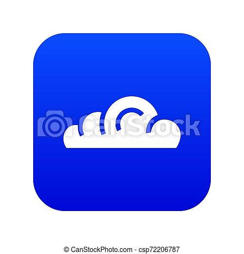 App cloud icon blue - csp72206787