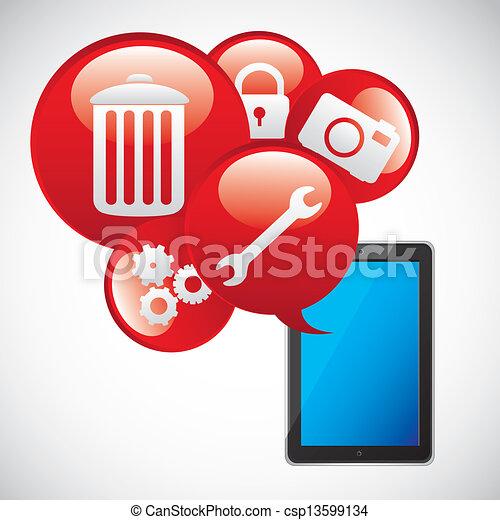 app, heiligenbilder - csp13599134