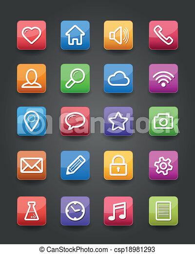 app, heiligenbilder - csp18981293