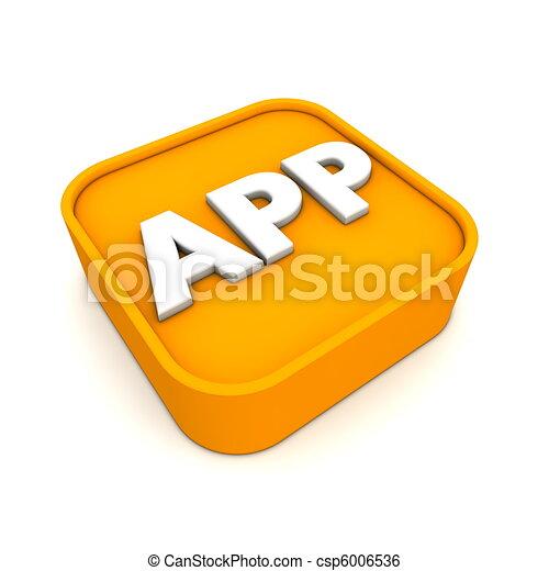 Estilo de icono APP - csp6006536