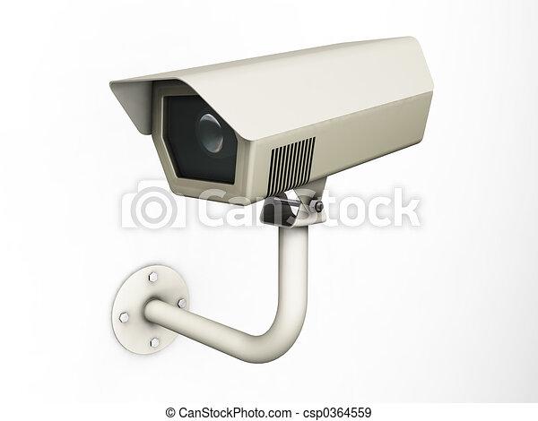 appareil photo, cctv - csp0364559