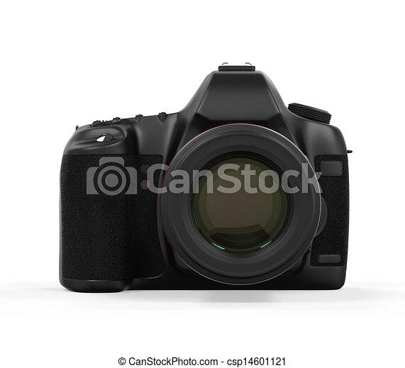 appareil photo, isolé, slr, numérique - csp14601121
