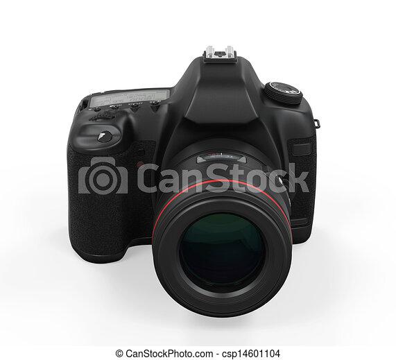 appareil photo, isolé, slr, numérique - csp14601104