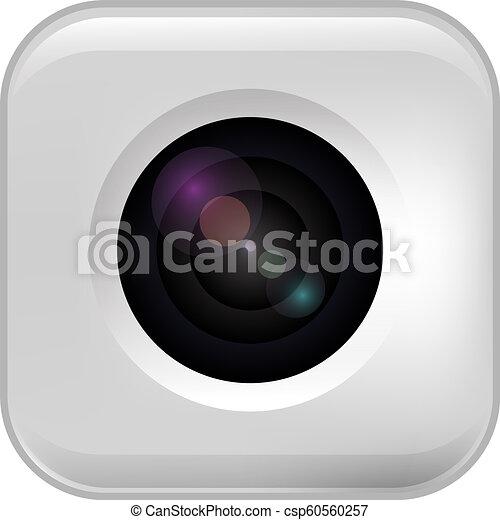 appareil-photo photo, lens. - csp60560257
