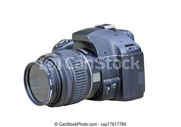 appareil photo, slr, numérique - csp17617784