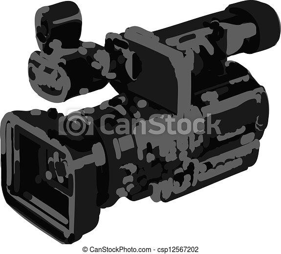 appareil photo, vidéo - csp12567202