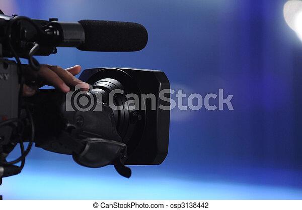 appareil photo, vidéo - csp3138442